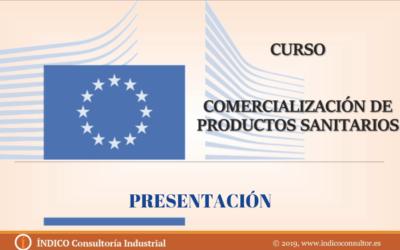 Curso de comercialización de productos sanitarios